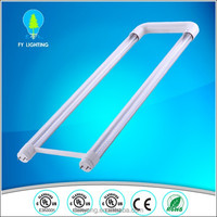 DLC UL approved led U tube,U shape, U bent t8 , 18W 2ft led tube light with 5 years warranty