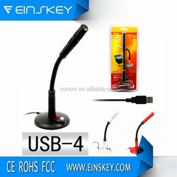 2015 Best Sale Cheap Price Wireless Microphone USB-4