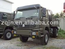 All wheel drive military vehicle 4x4 cargo truck