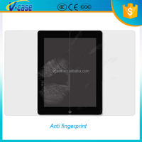 Anti fingerprint ultra thin HD tempered glass screen protector for 9.7 inch tablet