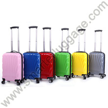 International ABS Trolley Carry-On Spinner Luggage Bag