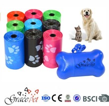 [Grace Pet] Dog Waste Bags, Pet Waste Bags, Leash Bone Dispenser