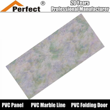 25cm transfer printed ceiling panels pvc manufacturer in Haining city