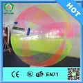 Hola 2014 1.0mm ce pvc/gigante de tpu bola inflable del agua, bola del agua caminando precio
