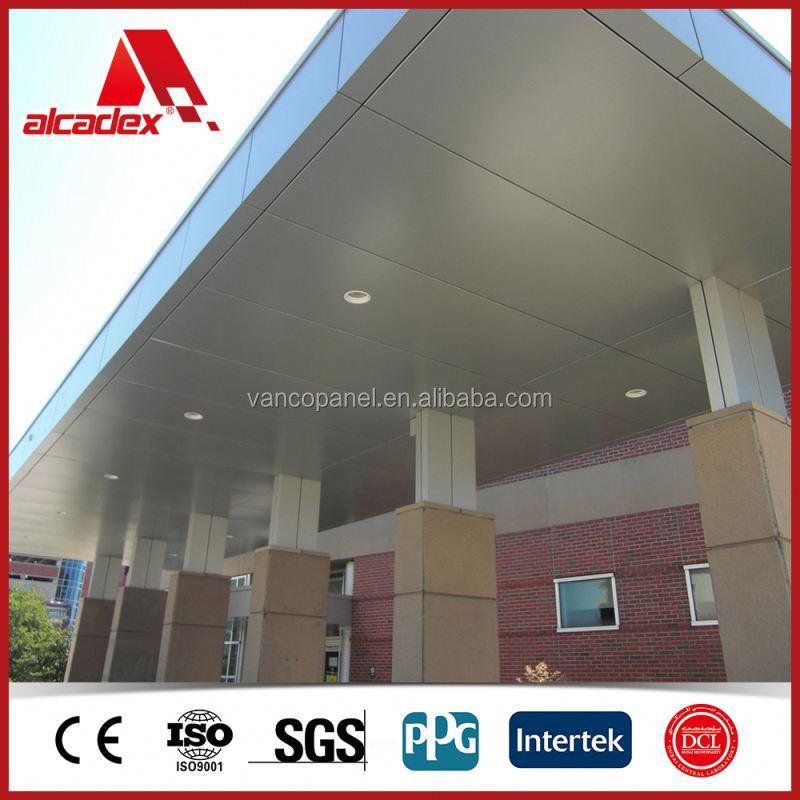 Wall Cladding Acp/Construction Material/Fascia Panels 4mm