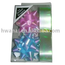 Hot Sale Various Holiday Gift Wrapping Materials Curling Ribbon and Star Bow