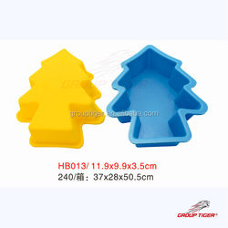 Christmas tree cup cake mould silicone for cake stand ceramic,silicone egg shape cake pan