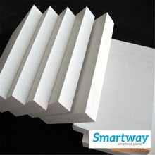 1mm to 30mm white pvc foam sheet