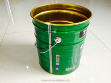 16L Tinplate barrel with steel handle for Latex paint, coating or other chemical products