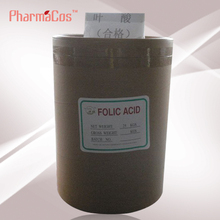 Food Grade Folic Acid/Vitamin B9 Powder USP/FCC