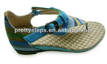 Pretty Steps Sandals Summer 2013 Women Beautiful Woven Flat Sandals