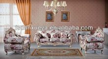 The most luxurious andt fashionable pure hand carved European style sofa