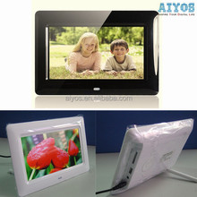Multi Functional Photo Frame Digital Clock/Alarm/Calendar Loop Play Video Music Photos