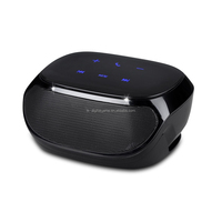 super bass wireless Bluetooth speaker with touch screen AUX TF card slot FM Radio and 1000mA battery