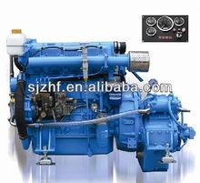 Hf-4108 90hp 4 cylindre intérieurs bateau moteur électrique bateau