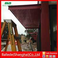 BALLEDE aluminum awning and louver
