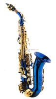 2015 China musical instrument children small curved colored soprano saxophone