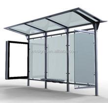 Bus Stop Shelter / Stainless Steel Bus Shelter / Solar Bus Shelter
