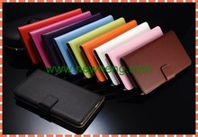 Genuine wallet book Leather Case For Samsung galaxy S6