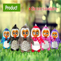 New Repeat Talking Toys, owl with LCD eyes