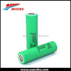Best price lithium ion battery Samsung 25R 30A 2500mAh 3.7v lipo e-cigarette battery