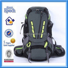 Waterproof durable travelling backpack bag with rain cover
