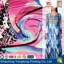 2014 polyester fabric chiffon for woman's garment