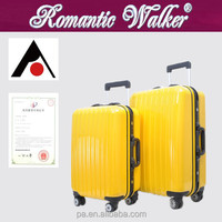 Professional manufacturers Factory wholesale 4 spinner caster PC trolley trunk