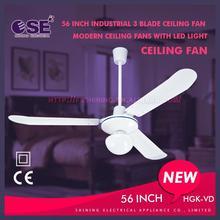new designed ceiling fan led ceiling fan industrial ceiling fan with 3 blade HGK-VD