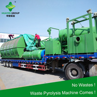 10T Waste Rubber Pyrolysis Equipment To Industry Oil Diesel