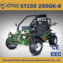 XT150GK-8 go kart with automatic clutch