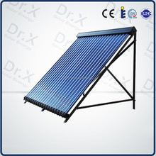 high efficiency high pressure heat pipe solar collector for split pressure solar water heaters
