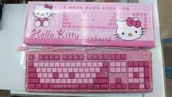 45 colors Mixed wholesale fashion Kitty beaded keyboard cute promotion keyboard