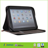 Bag styles with metal zip in genuine leather for ipad mini