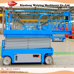 Self propelled electric scissor lifts for sale