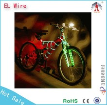 China supply led lighting wire car bike party decorative light el wire 2015 hotsale