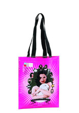 Oem multi-color pink non woven shopping bag