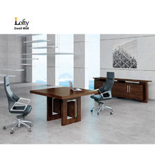 Simple wood of executive office meeting furniture table designs