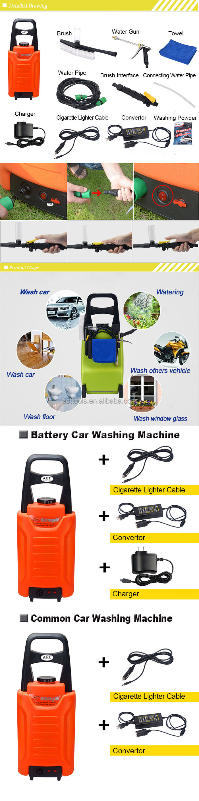 Hot selling mobile steam car wash machine for wholesales