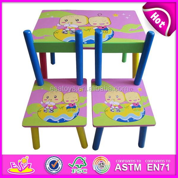 Cheap Wood Table And Chairs Toy For Kids,Lovely Cheap Wood Table And ...