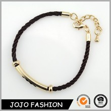 HOT SALE! Simple knitting promotional bracelet birthday gifts