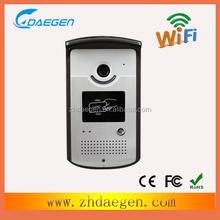 Best WiFi IP video door phone supports two way intercom and remotely unlock door, wireless IP video door phone, wifi, DIY