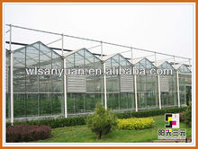 Used commercial polycarbonate greenhouses Can used for a long time; hollow plastic sheet;Hollow polycarbonate greenhouse