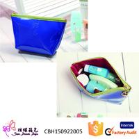 Alibaba express korean cosmetic bag, travel pouch, pu ladies bag