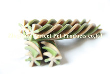 dry food for dog (two-tone twisted dog's chews)