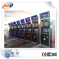Coin operated darts game machine,indoor amusement electric dart game for sale