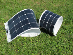 21% efficiency 100W flexiable solar panel sunpower cell PV solar panel