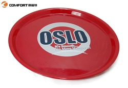 durable round hot sale oem cheap mini plastic serving tray