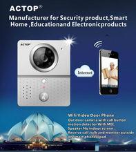 wifi camera ACTOP shenzhen factory hot sale best wifi door phone