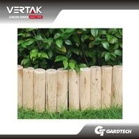 Rich experience easy working wooden garden edging fence